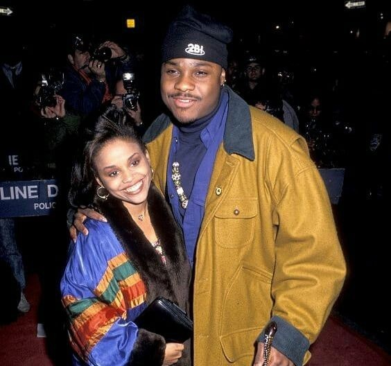 Michelle Thomas and Malcolm-Jamal Warner | Image: Pinterest
