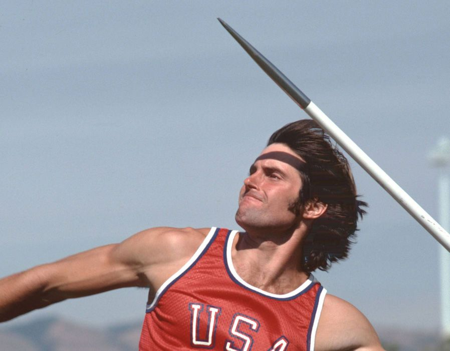 Caitlyn Jenner ( formerlyBruce Jenner) competing at the 1976 Olympics | Image: Pinterest
